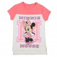 Mickey & Friends Pink Off White T-Shirt MF1EGT436