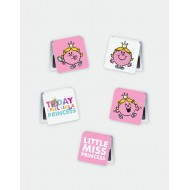 IF by Mufubu Little Miss Princess  Mini Magnetic Bookmarks