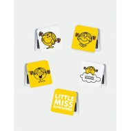 IF by Mufubu Little Miss Sunshine  Mini Magnetic Bookmarks