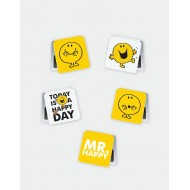 IF by Mufubu Mr.Happy Mini Magnetic Bookmarks