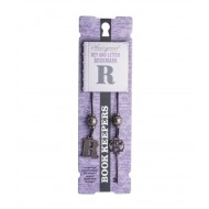 If By Mufubu Book Keepers Bookmarks Letter R