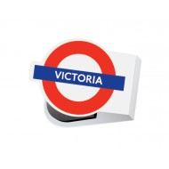 IF by Mufubu London Underground Mini Magnetic Book Mark Victoria