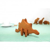 Suck UK by Mufubu Random 3D Dinosaur Cookie Cutters