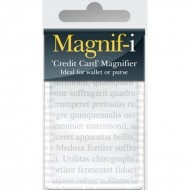 IF by Mufubu Credit Card Magnifier