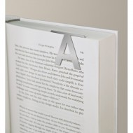 IF by Mufubu Helvetica ClipOn Letter Bookmark A