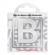 IF by Mufubu Helvetica ClipOn Letter Bookmark B