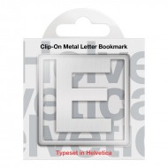 IF by Mufubu Helvetica ClipOn Letter Bookmark E