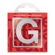 IF by Mufubu Helvetica ClipOn Letter Bookmark G