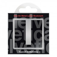 IF by Mufubu Helvetica ClipOn Letter Bookmark I