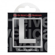 IF by Mufubu Helvetica ClipOn Letter Bookmark L