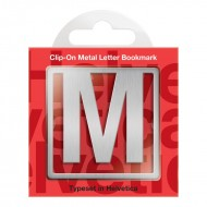 IF by Mufubu Helvetica ClipOn Letter Bookmark M