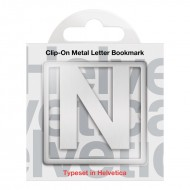 IF by Mufubu Helvetica ClipOn Letter Bookmark N