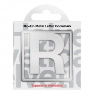 IF by Mufubu Helvetica ClipOn Letter Bookmark R
