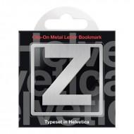 IF by Mufubu Helvetica ClipOn Letter Bookmark Z