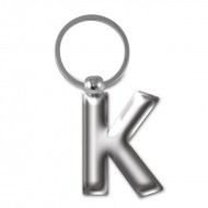 IF by Mufubu Letter KEYRING K