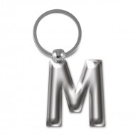 IF by Mufubu Letter KEYRING M
