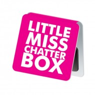 IF by Mufubu Little Miss Chatterbox Mini Magnetic Bookmarks