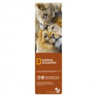 IF by Mufubu National Geographic 3D Bookmark African Lions