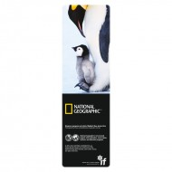IF by Mufubu National Geographic 3D Bookmark Emperor Penguin and Chick