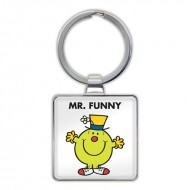 IF by Mufubu Mr. Funny Keyring