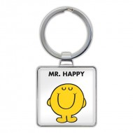IF by Mufubu Mr. Happy Keyring