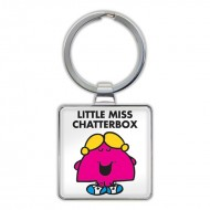 IF by Mufubu Little Miss Chatterbox Keyring