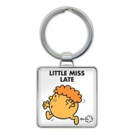 IF by Mufubu Little Miss Late Keyring