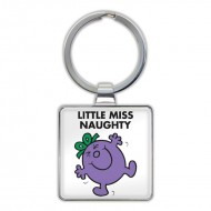 IF by Mufubu Little Miss Naughty Keyring