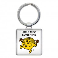 IF by Mufubu Little Miss Sunshine Keyring