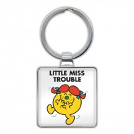 IF by Mufubu Little Miss Trouble Keyring