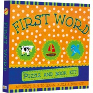 Art Factory My First Fun To Learn Puzzle And Book Kitfirst Word