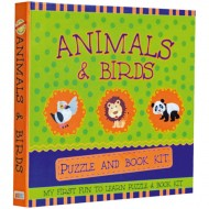 Art Factory My First Fun To Learn Puzzle And Book Kitanimals And Bird