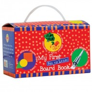 Art Factory My First Fun To Learn Board Book Box Red