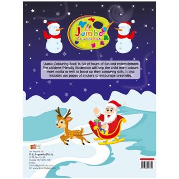Art Factory Jumbo Colouring Book Merry Christmas