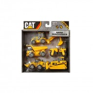 CAT Mini Machine 5 Pack NEW DESIGN