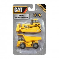 CAT Mini Machine 2Pack NEW DESIGN