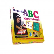 Ekta Abc Numero Board Magnetic PreSchool Game