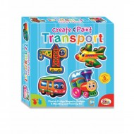 Ekta Create & Paint Transport Fun Game