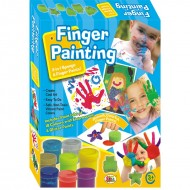Ekta Finger Painting Senior 18 Colors Fun Game