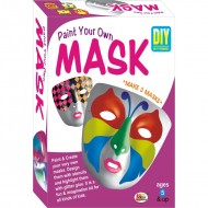 Ekta Paint Your Own Mask Fun Game