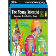 Ekta The Young Scientist-2 Magnetism Electricity Clouds Do It Your Self Kit