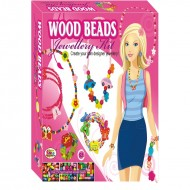 Ekta Wood Beads Jewellery Kit Junior Fun Game