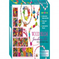 Ekta Wood Beads Jewellery Kit sr. Fun Game