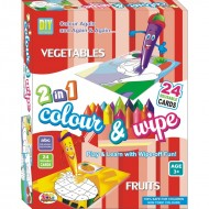 Ekta Colour & Wipe Vegetables And Fruits
