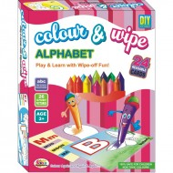 Ekta Colour & Wipe Alphabet