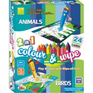Ekta Colour & Wipe Animals And Birds