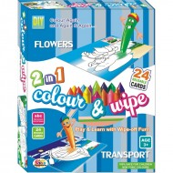 Ekta Colour & Wipe Flower And Transport