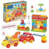 Dede Service Station Playset