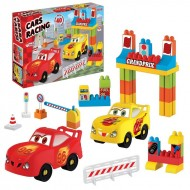 Dede Car Racing Playset