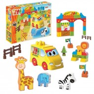 Dede Zoo Playset